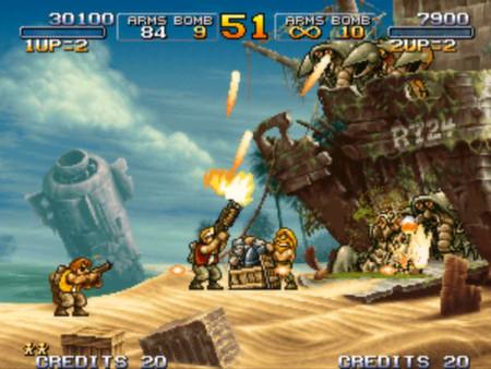 Скриншот №1 к METAL SLUG 3