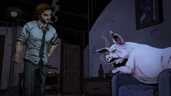 The Wolf Among Us скриншот