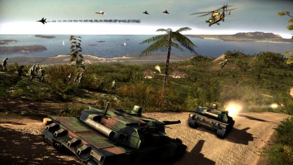 скриншот Wargame: Red Dragon 4