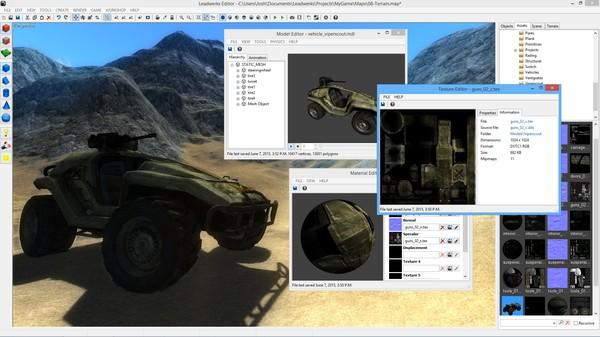 скриншот Leadwerks Game Engine: Indie Edition 1