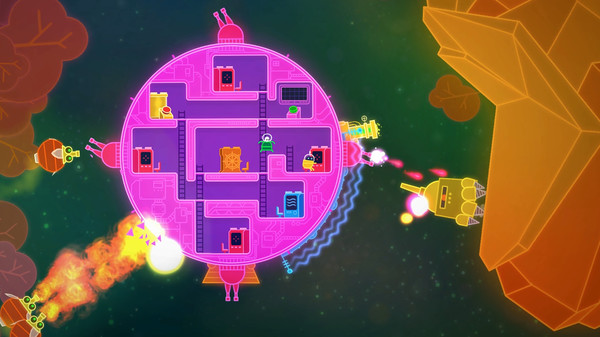 Lovers in a Dangerous Spacetime - Steam - Imagem 1 do software