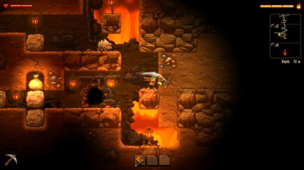 SteamWorld Dig Captura 1