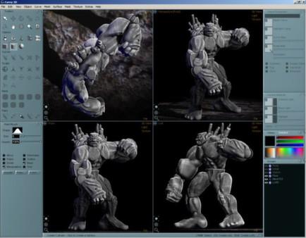 скриншот Aartform Curvy 3D 3.0 1