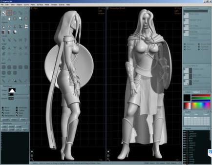 скриншот Aartform Curvy 3D 3.0 3