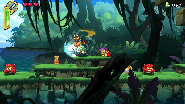Скриншот №2 к Shantae Half-Genie Hero