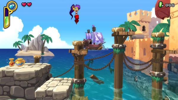 Скриншот №8 к Shantae Half-Genie Hero