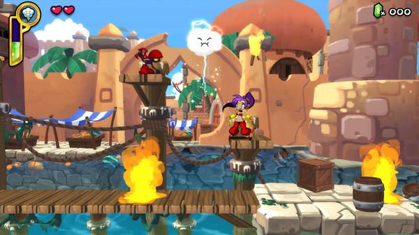 Скриншот №10 к Shantae Half-Genie Hero