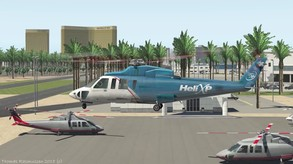 Updated Las Vegas scenery including in X-Plane 11.25