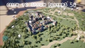 Battle royale simulator video