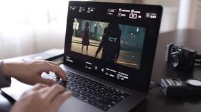 Cine Tracer video