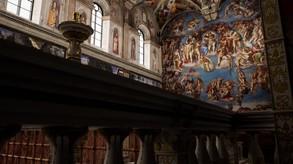 IL DIVINO: Michelangelo's Sistine Ceiling in VR video