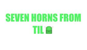 Seven Horns From Tilt video