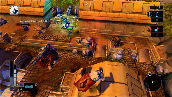 скриншот Madballs in Babo:Invasion 3