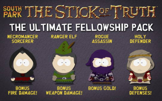 скриншот South Park: The Stick of Truth - Ultimate Fellowship Pack 0