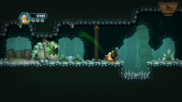 скриншот Oozi: Earth Adventure 4