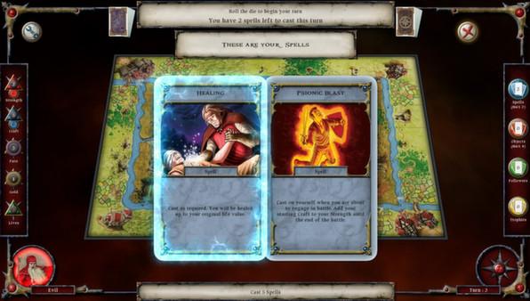 скриншот Talisman: Prologue 4