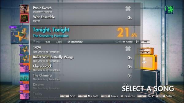 """Скриншот №5 к Rocksmith® 2014 – The Smashing Pumpkins - """"Tonight Tonight"""""""