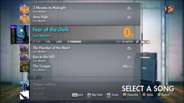 "Скриншот №5 к Rocksmith® 2014 – Iron Maiden - ""Fear of the Dark"""