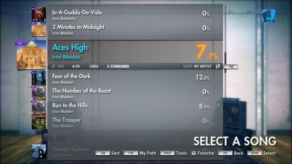 "Скриншот №5 к Rocksmith® 2014 – Iron Maiden - ""Aces High"""