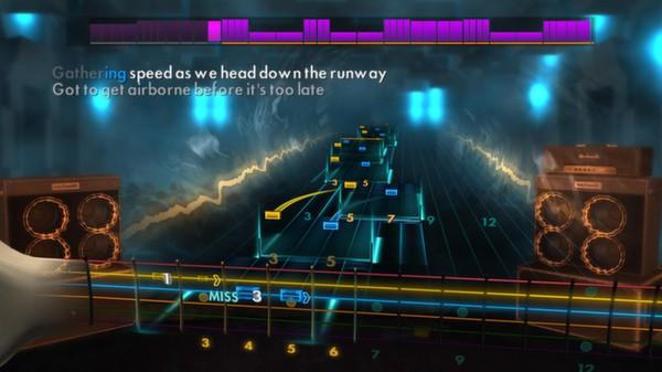 "Скриншот №2 к Rocksmith® 2014 – Iron Maiden - ""Aces High"""