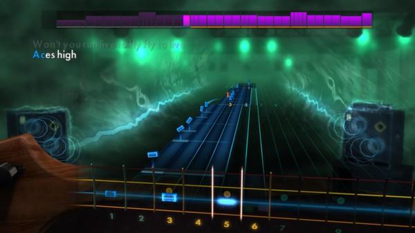 "Скриншот №4 к Rocksmith® 2014 – Iron Maiden - ""Aces High"""