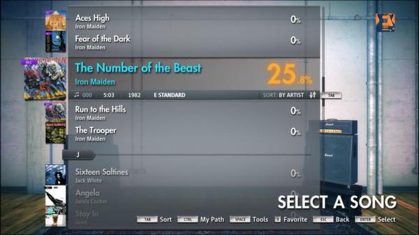 "Скриншот №5 к Rocksmith® 2014 – Iron Maiden - ""The Number of the Beast"""