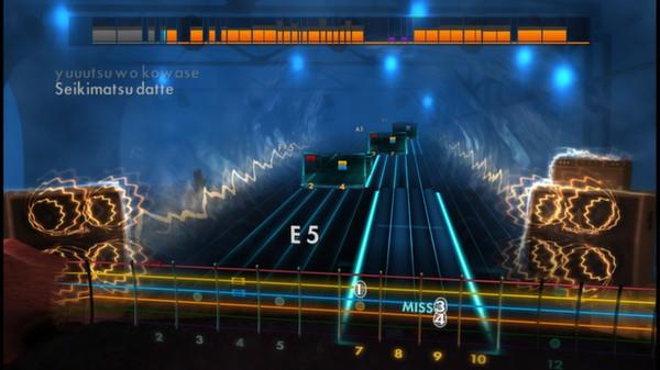 Скриншот №1 к Rocksmith® 2014 – Hotei Song Pack
