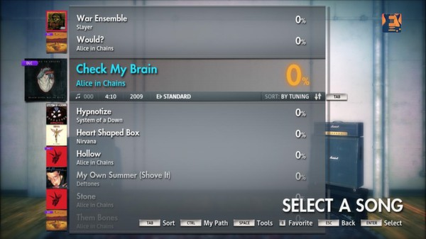 Скриншот №10 к Rocksmith® 2014 – Alice in Chains Song Pack