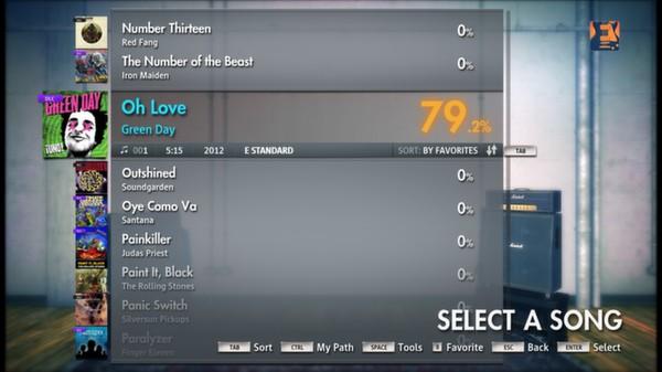 Скриншот №7 к Rocksmith® 2014 – Green Day Song Pack