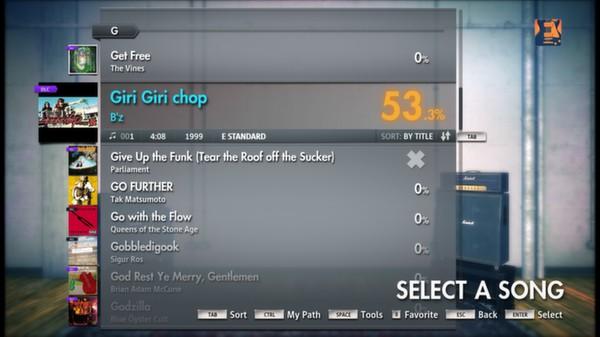 "Скриншот №5 к Rocksmith® 2014 – Bz - ""Giri Giri chop"""