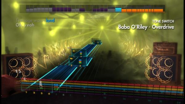 """Скриншот №2 к Rocksmith® 2014 – The Who - """"Baba ORiley"""""""