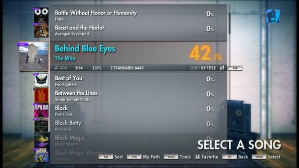 "Скриншот №2 к Rocksmith® 2014 – The Who - ""Behind Blue Eyes"""