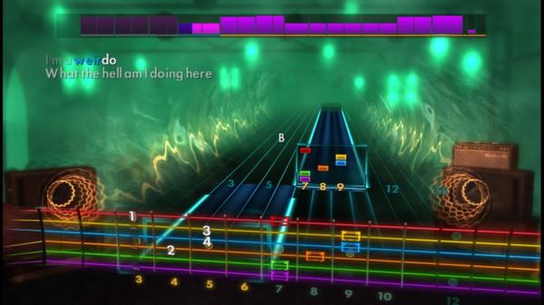 "Скриншот №3 к Rocksmith® 2014 – Radiohead - ""Creep"""