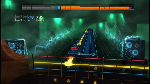 Скриншот №1 к Rocksmith® 2014 – Radiohead Song Pack