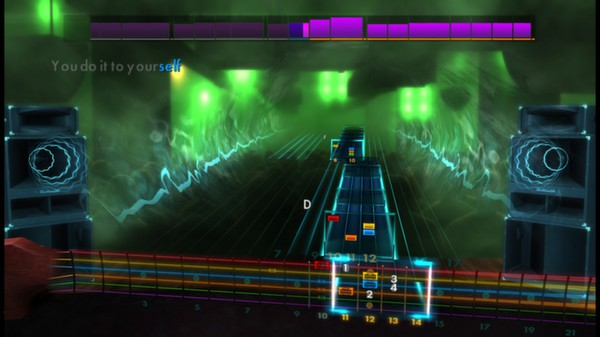Скриншот №4 к Rocksmith® 2014 – Radiohead Song Pack