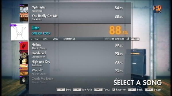 "Скриншот №1 к Rocksmith® 2014 – ONE OK ROCK - ""Liar"""