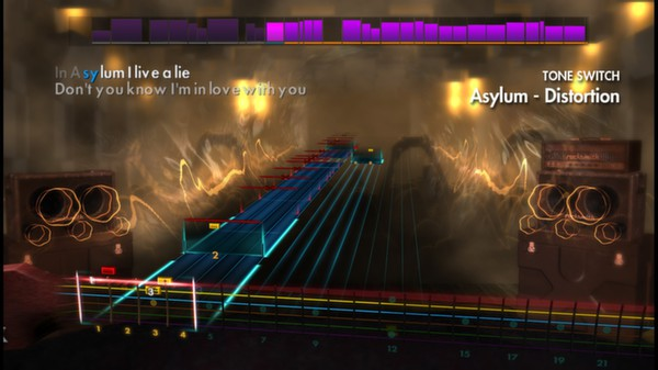 "Скриншот №4 к Rocksmith® 2014 – Disturbed - ""Asylum"""