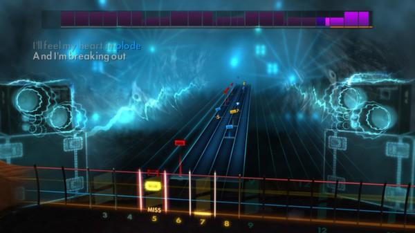 """Скриншот №2 к Rocksmith® 2014 – Muse - """"Hysteria"""""""