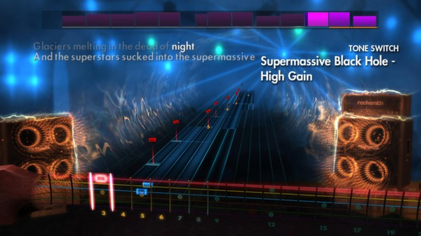"Скриншот №4 к Rocksmith® 2014 – Muse - ""Supermassive Black Hole"""