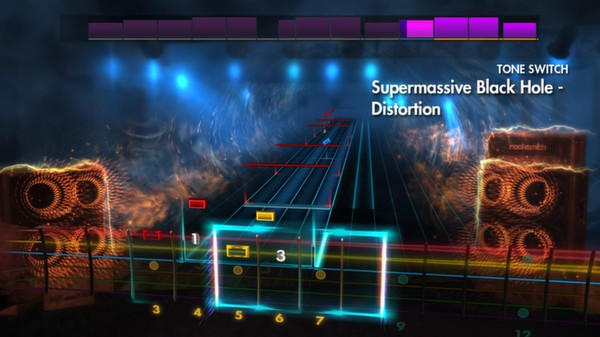 "Скриншот №5 к Rocksmith® 2014 – Muse - ""Supermassive Black Hole"""