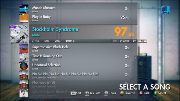 "Скриншот №2 к Rocksmith® 2014 – Muse - ""Stockholm Syndrome"""