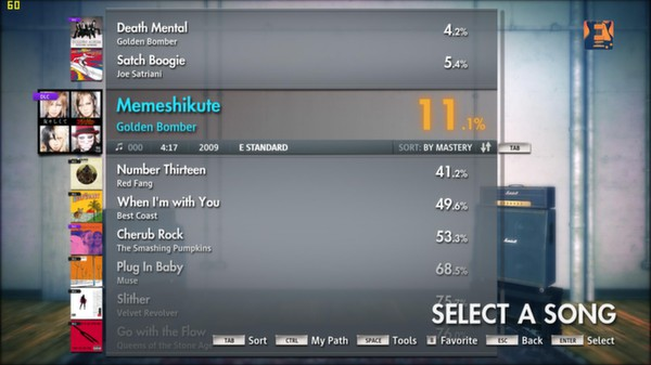 Скриншот №9 к Rocksmith® 2014 – Golden Bomber Song Pack