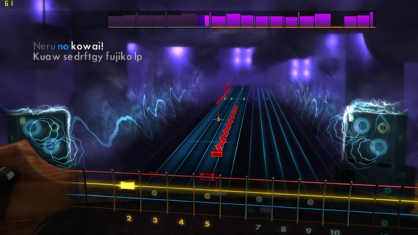 Скриншот №1 к Rocksmith® 2014 – Golden Bomber Song Pack