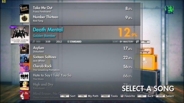 Скриншот №7 к Rocksmith® 2014 – Golden Bomber Song Pack