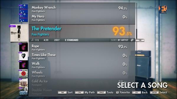 "Скриншот №4 к Rocksmith® 2014 – Foo Fighters - ""The Pretender"""