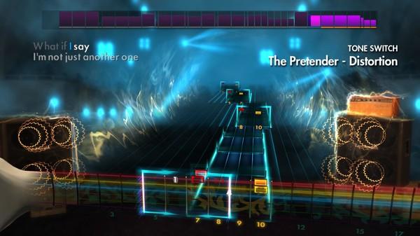 "Скриншот №2 к Rocksmith® 2014 – Foo Fighters - ""The Pretender"""