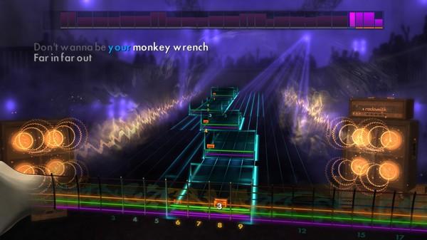 "Скриншот №3 к Rocksmith® 2014 – Foo Fighters - ""Monkey Wrench"""