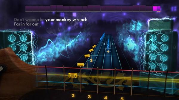 "Скриншот №5 к Rocksmith® 2014 – Foo Fighters - ""Monkey Wrench"""