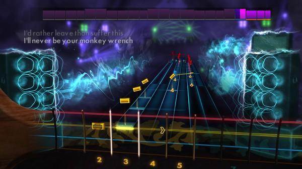 "Скриншот №4 к Rocksmith® 2014 – Foo Fighters - ""Monkey Wrench"""