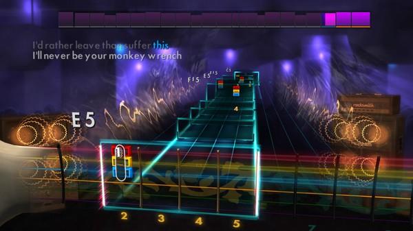 "Скриншот №1 к Rocksmith® 2014 – Foo Fighters - ""Monkey Wrench"""